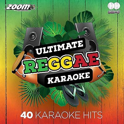 Zoom Karaoke Ultimate Reggae Double CD+G Clean Lyrics New Sealed