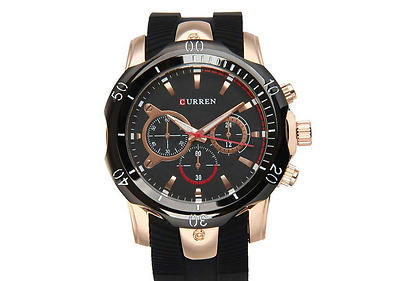 CURREN Reloj Hombre Automatico ELEGANTE - Men's Quartz Chronograph - Men Watches