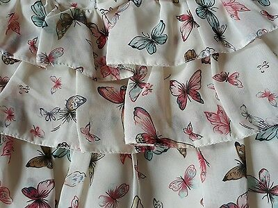 girls butterfly  skirt 12-18 months tu Sainsburys
