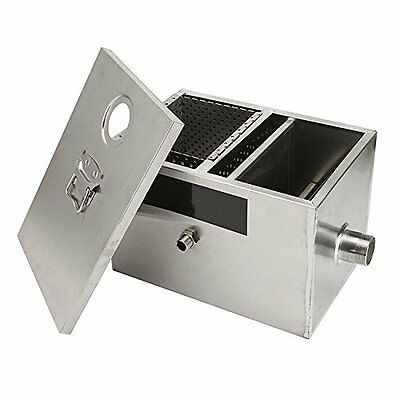 Commercial Grease Traps 8LB Grease Trap For Restaurants 5GPM Gallons Per Minute