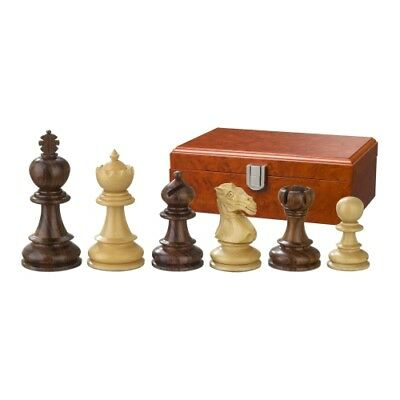 Chess figures - Avitus - Wood - Noble Staunton - Kings height 90 mm