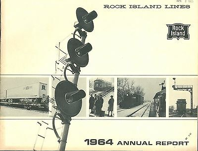 Rock Island Lines 1964 Annual Report