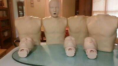 4 Prestan Pp-Am-100-As Professional Cpr Training Manikns With Carry Case