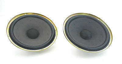 2 x Original SM120K/Sm 120 K Speaker Subwoofer/Woofer Pot Condition