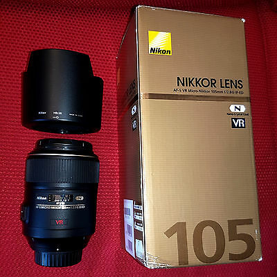 Micro Nikkor VR 105mm f/2.8G IF-ED
