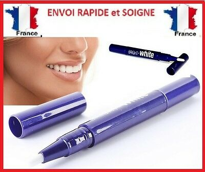 STYLO BLANCHIMENT DES DENTS gel professionel blancheur now sourire white NEUF