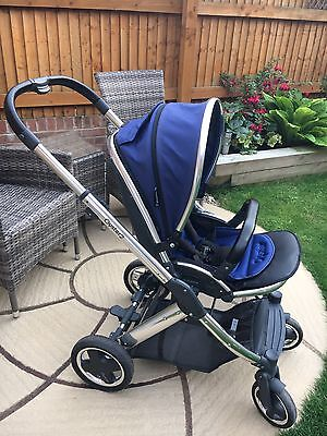 Babystyle Oyster 2 Pushchair, Blue Colour pack