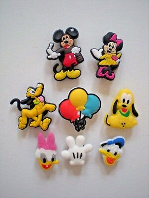 Jibbitz Clog Shoe Charm Plug Button Accessories Mickey Mouse Balloons Wristband Fashion Jewelry