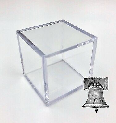 12 Stackable Display Cube Holder Case For Fossils Rocks Minerals
