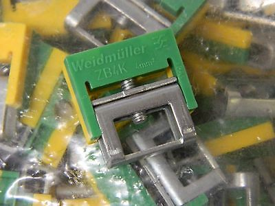 Weidmuller ZB 4K GE/GN 4sqMM Terminal Connector 50off