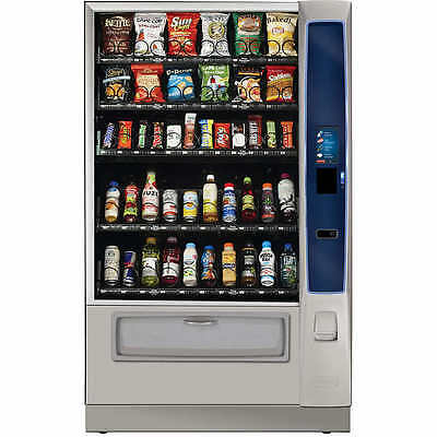 Crane Merchant Media 6 Combo Refrigerated Vending Machine NEW w/ touchscreen