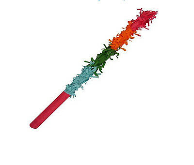 Multicolour Pinata Buster Stick Hitting Stick Kids Birthday Party Games Activity