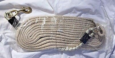 Lunge Line Horse Pony Tack Equestrian Barn Stable Exercise Bungee NEW