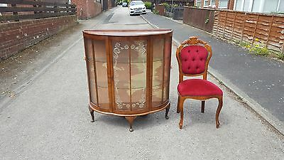 Vintage walnut china cabinet free 10 mile radius delivery from sr83pn