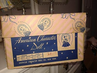 American Character Sweet Sue Walker 18-in. doll box, VGVC