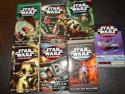 Lot Of 7 Star Wars The New Jedi Order Paperbacks All Like New Or Better