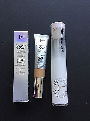 IT Cosmetics Full Coverage SPF50+ CC Cream & Heavenly Skin Brush
