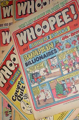 Whoopee! 1974 - 1976 Vintage Comic Collection of 7 Various Collector Comic Rare
