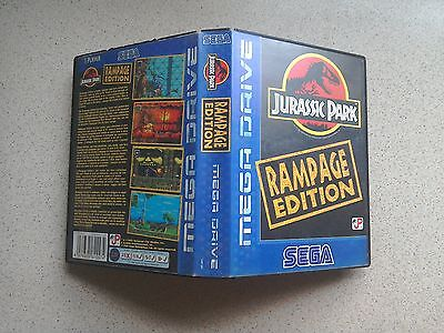 Jurassic Park: Rampage Edition Empty BOX ONLY - For Sega Mega Drive Game