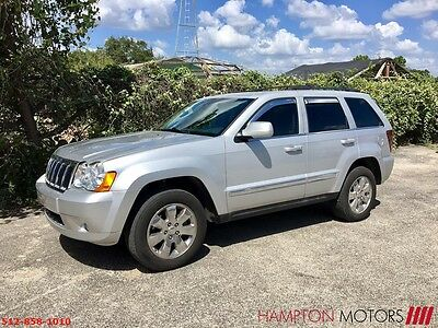 2008 Jeep Grand Cherokee Limited Sport Utility 4-Door 2008 Jeep Grand Cherokee Limited 5.7L Quadradrive II AWD with 4wd Low