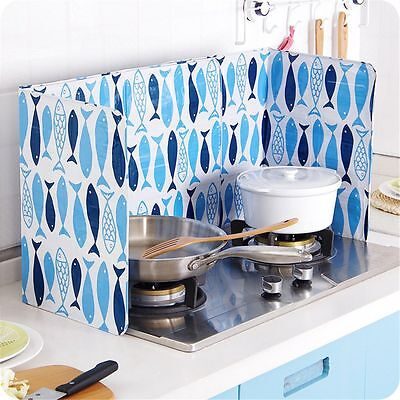 Oil Splash Cover Aluminum Foil Screen Cooking Anti Splatter Guard Hot