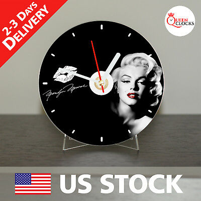 NEW Marilyn Monroe Legendary Actress CD Clock Photo Picture Rare Unique Gift Art