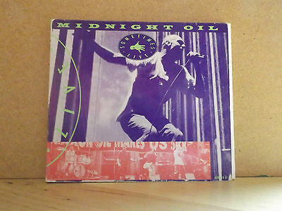 Midnight Oil ‎– Sometimes (Live). 1992 Columbia Live CD Single. RARE!!!
