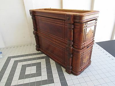 oak drawers from old Singer treadle cabinet furniture