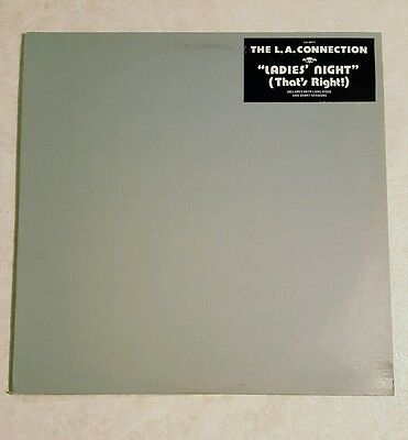 """The L.A. Connection - Ladies' Night Record/12"""" Single Free Shipping Rare"""
