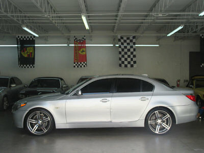 2004 BMW 5-Series 525i 91000 MILES 525I BMW 2004 NONSMOKER FLORIDA CAR M6 WHEELS LIKE 550 528 523 SEDAN