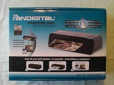 Pandigital photolink one touch scanner