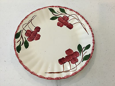 "Southern Potteries Cherries Pattern 10 1/4"" Dinner or Serving Plate!!!!!!"