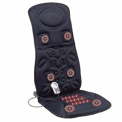 Relaxing Vibration Car/Home Massage Seat Cushion for Chair with Heat Function
