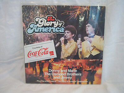 The Glory of America Donny and Marie The Osmond Brothers and Jimmy