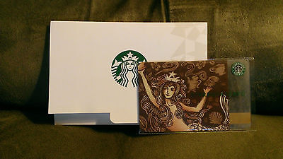 Used Gorgeous STARBUCKS Japan 2009 Anniversary SIREN Gift Card LIMITED & RARE