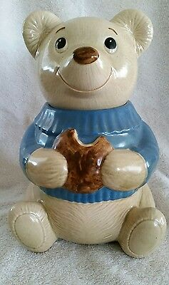 Poppytrail Teddy Bear Cookie Jar