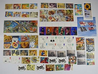 100 Mint As Purchased Unused Gummed Royal Mail 1st Class Stamps