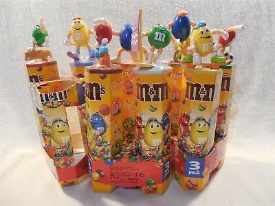 M&M's Foreign European Sport Toppers & Candy Tubes Complete Set of 8 Sealed MIP