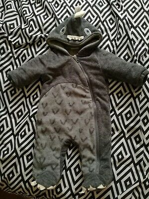 Boys Next Dinosaur Snow Suit In Size 0-3  Months