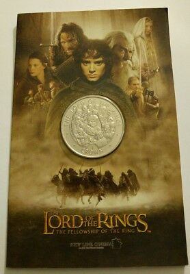 2003 The Lord Of The Rings Isle Of Man 1 Crown Coin Mint!! Bu!!