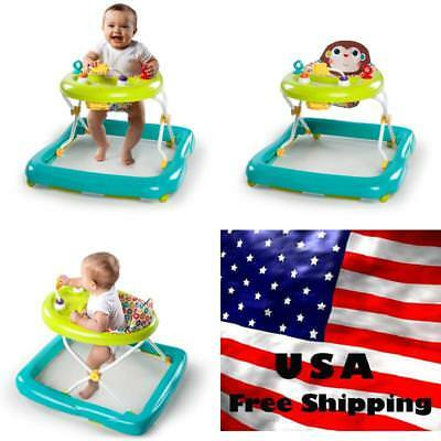 New Infant Baby Activity Walker Jumper Bouncer Walk Stand Activity Seat Toy NEW