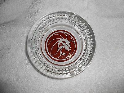 Vtg Las Vegas Mgm Lion Grand Hotel Casino Ashtray