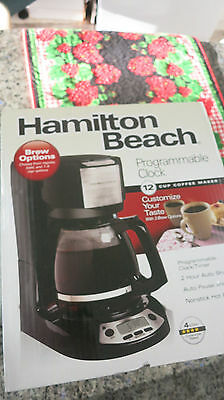 Brand New  	Hamilton Beach 12-Cup Programmable Coffee Maker