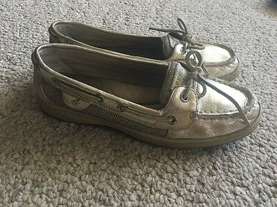 Sperry Top Sider Women's Size 7.5 Shoes Gold