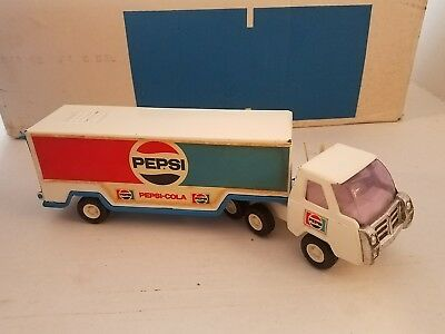 Vintage BUDDY L Pepsi Cola Delivery Truck Toy Metal Made in Japan