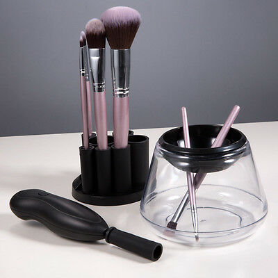 Electric Makeup Brush Cleaner & Dryer Set Cosmetic Clean Auto Dry Washing Tool