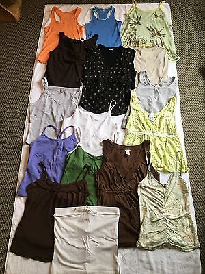 Lot of 16 Women's Tank Tops mostly size Small Express J. Crew Gap Old Navy