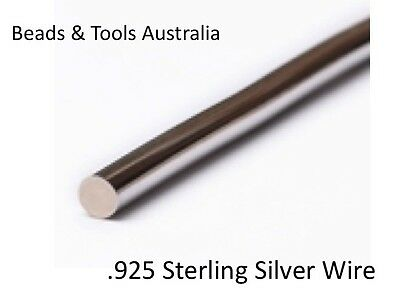 925 Sterling Silver Wire - Assorted Gauges - Medium Hardness - BEADS & TOOLS