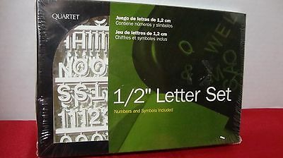 Quartet Letter Set - F12