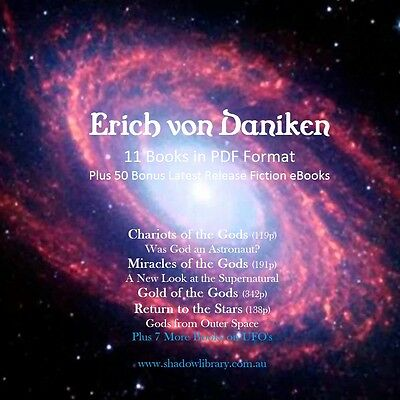 UFO - Erich von Daniken - 11 ebooks + 50 Late Release Titles